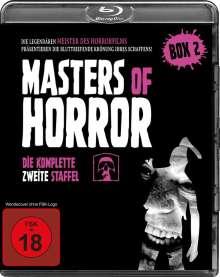 Masters of Horror Staffel 2 (Blu-ray), 4 Blu-ray Discs