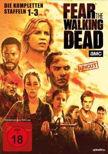 Fear the Walking Dead Staffel 1-3, 10 DVDs