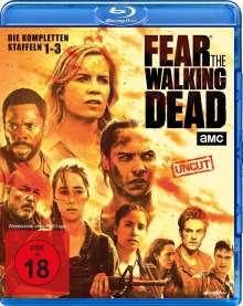 Fear the Walking Dead Staffel 1-3 (Blu-ray), 10 Blu-ray Discs