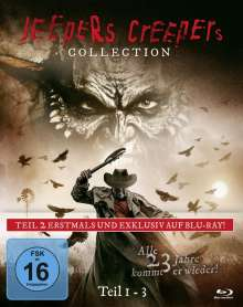 Jeepers Creepers Collection 1-3 (Limited Edition) (Blu-ray), 3 Blu-ray Discs