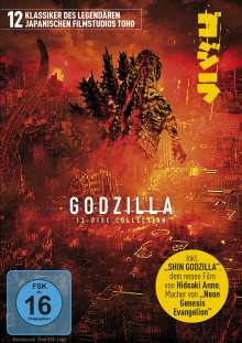 Godzilla - 12-Disc Collection, 12 DVDs