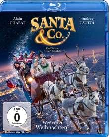Santa & Co. - Wer rettet Weihnachten? (Blu-ray), Blu-ray Disc