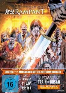 Rampant (Blu-ray im Mediabook), 2 Blu-ray Discs