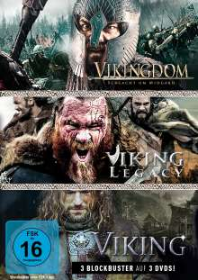 Wikinger-Box: Viking / Vikingdom / Viking Legacy, 3 DVDs