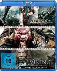 Wikinger-Box: Viking / Vikingdom / Viking Legacy (Blu-ray), 3 Blu-ray Discs