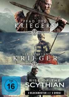 Krieger-Box: Pfad des Kriegers / Die letzten Krieger / Rise of the Scythian, 3 DVDs