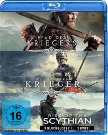 Krieger-Box: Pfad des Kriegers / Die letzten Krieger / Rise of the Scythian (Blu-ray), 3 Blu-ray Discs