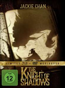 The Knight of Shadows (Blu-ray & DVD im Mediabook), 1 Blu-ray Disc und 1 DVD
