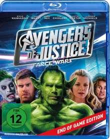 Avengers of Justice: Farce Wars (Blu-ray), Blu-ray Disc