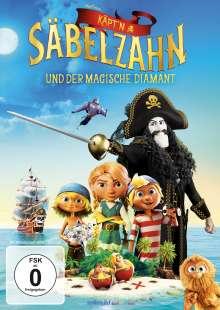 Käpt'n Säbelzahn und der magische Diamant, DVD
