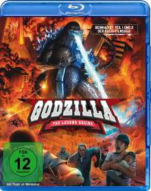 Godzilla: The Legend begins (Blu-ray), 2 Blu-ray Discs