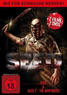 Seed Double Feature, 2 DVDs