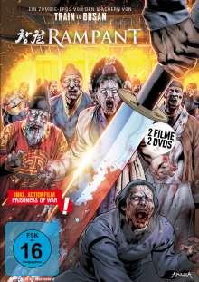 Rampant (inkl. Prisoners of War), 2 DVDs