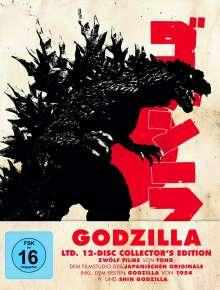 Godzilla (Limited Edition) (12 Filme) (Blu-ray), 12 Blu-ray Discs