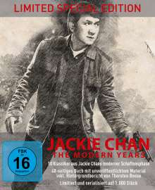 Jackie Chan - The Modern Years (Limited Special Edition) (Blu-ray im Digipak), 10 Blu-ray Discs
