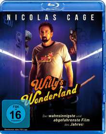 Willy's Wonderland (Blu-ray), Blu-ray Disc