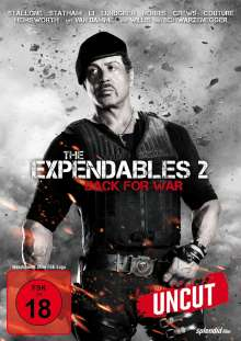 The Expendables 2 - Back For War, DVD