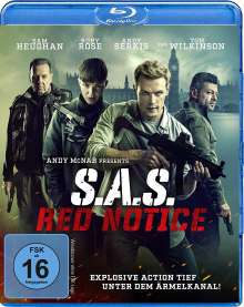 S.A.S. Red Notice (Blu-ray), Blu-ray Disc