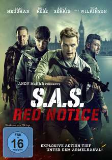 S.A.S. Red Notice, DVD