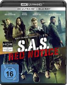 S.A.S. Red Notice (Ultra HD Blu-ray & Blu-ray), 1 Ultra HD Blu-ray und 1 Blu-ray Disc