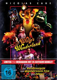 Willy's Wonderland (Blu-ray im Mediabook), Blu-ray Disc