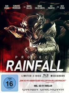 Project Rainfall (Blu-ray im Mediabook), 2 Blu-ray Discs