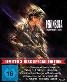 Peninsula - Die komplette Saga (Limited Special Edition) (Blu-ray), 3 Blu-ray Discs