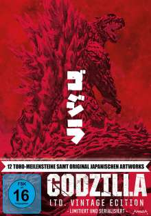 Godzilla (Limited Vintage Edition) (12 Filme) (Blu-ray), 12 Blu-ray Discs