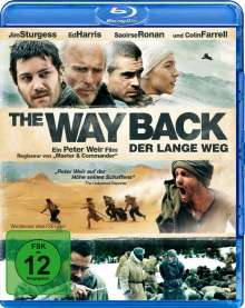 The Way Back - Der lange Weg (Blu-ray), Blu-ray Disc