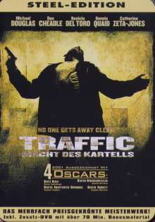Traffic - Die Macht des Kartells (Sp.Ed.in Metallverpackung), 2 DVDs