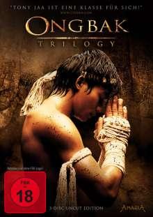 Ong Bak Trilogy (Special Edition), 3 DVDs