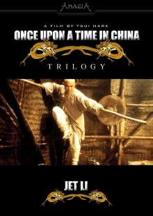 Once Upon A Time In China - Trilogy, 3 DVDs