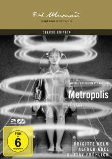 Metropolis (1926), 2 DVDs