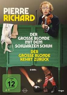 Der grosse Blonde mit dem schwarzen Schuh / Der grosse Blonde kehrt zurück, 2 DVDs