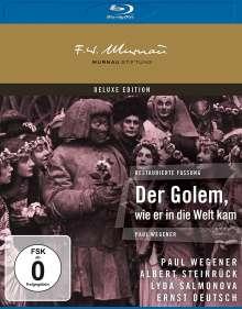 Der Golem, wie er in die Welt kam (Blu-ray), Blu-ray Disc
