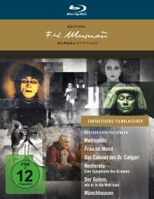 Fantastische Filmklassiker - Edition F.W. Murnau (Blu-ray), 8 Blu-ray Discs