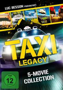 Taxi Legacy - 5-Movie Collection, 5 DVDs