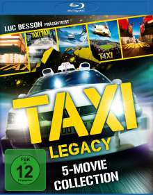 Taxi Legacy - 5-Movie Collection (Blu-ray), 5 Blu-ray Discs