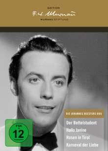 Die Johannes Heesters-Box (Deluxe Edition), 4 DVDs