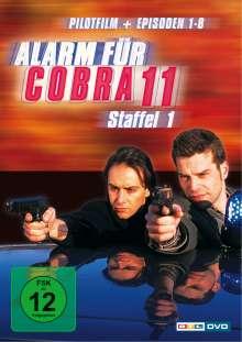 Alarm für Cobra 11 Staffel 1, 3 DVDs