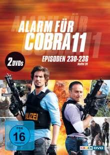 Alarm für Cobra 11 Staffel 29, 2 DVDs