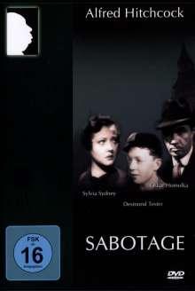 Sabotage (1936), DVD