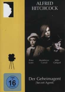 Der Geheimagent (1935), DVD
