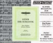 Lieder der Romantik für tiefe Stimme, CD