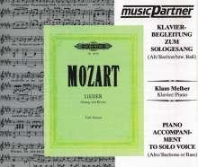 Mozart:Lieder (tief), CD