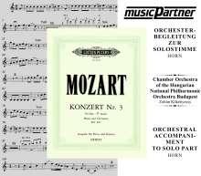 Mozart:Hornkonzert Nr.3, CD