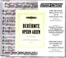 Berühmte Opern-Arien - Orchesterbegleitung zum Sologesang (Sopran / Mezzosopran), CD