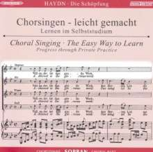 Chorsingen leicht gemacht:Haydn,Die Schöpfung (Sopran), CD