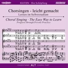 Chorsingen leicht gemacht:Haydn,Die Schöpfung (Alt), CD