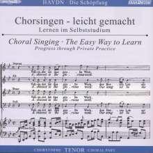 Chorsingen leicht gemacht:Haydn,Die Schöpfung (Tenor), CD